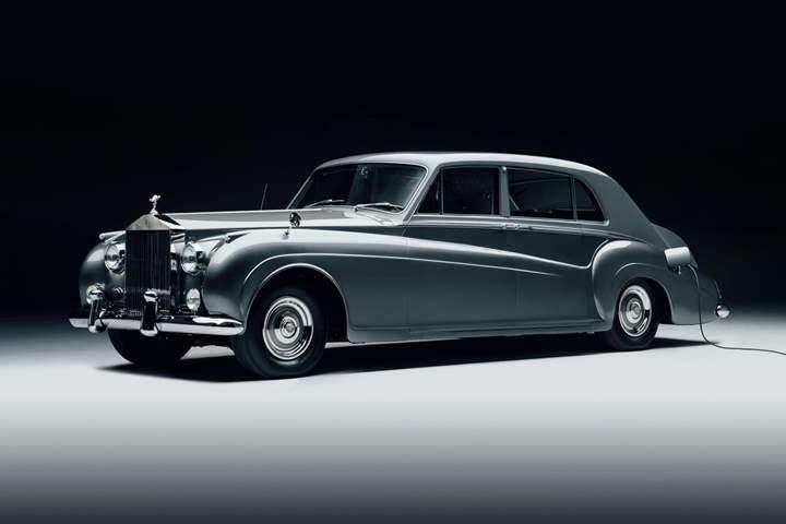 سيارات رولز رويس الكلاسيكية تتحول إلى الكهرباء