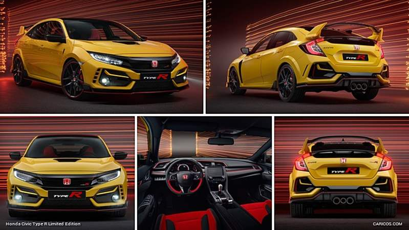 بقوة 306 حصانا .. هوندا تطلق نسخة محدودة من Civic Type R لعالم 2021