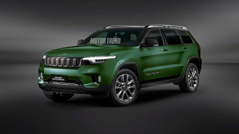 2022-Jeep-Grand-Wagoneer-rendering-front-three-quarter-green-1