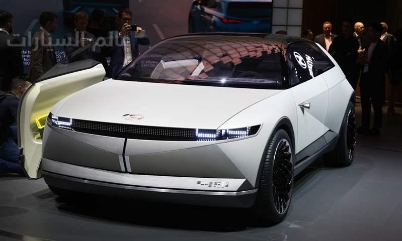فرانكفورت 2019:  هيونداي تكشف عن توجهاتها المستقبلية من خلال 45 EV