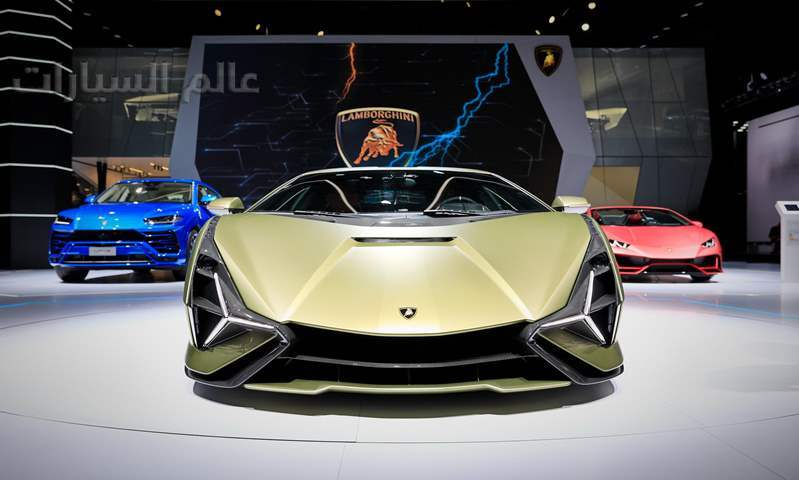فرانكفورت 2019: لامبورجيني سيان أول طراز هجيني من الصانع الإيطالي