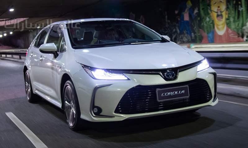 تويوتا كورولا الهجينة بسوق السيارات المصري بدءاً من 650,000 جنيه +فيديو