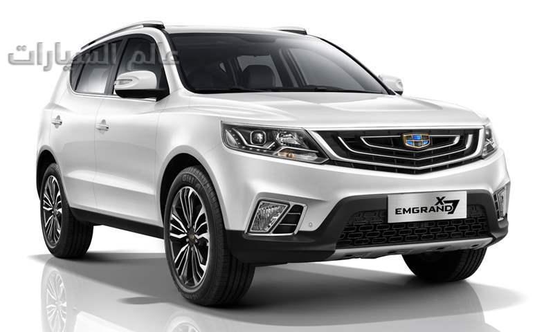 جيلي إمجراند X7 موديل 2020 تدخل المنافسة بسوق السيارات المصري