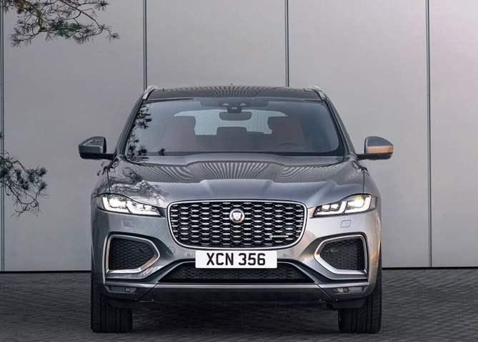 جاجوار تكشف عن سيارتها F-Pace  الجديدة موديل 2021