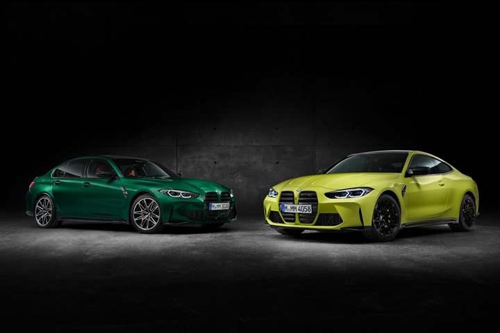 قبل ساعات من موعد الإعلان عنهما.. تسريب الصور الرسمية  للثنائي M3 و M4 من BMW