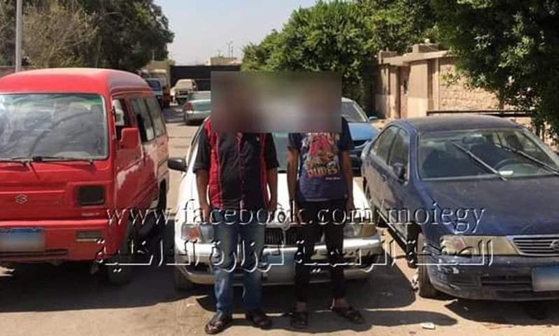 ضبط تشكيل عصابي لسرقة السيارات في القاهرة