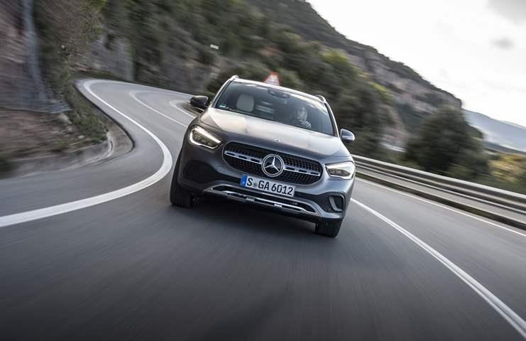 Mercedes GLA. (3)