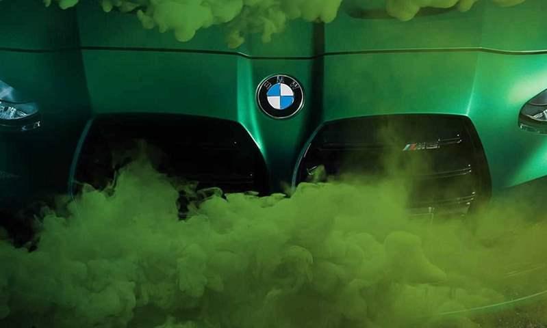 بي إم دبليو تطرح مزيدًا من الصور التشويقية للسيارتين M3 وM4