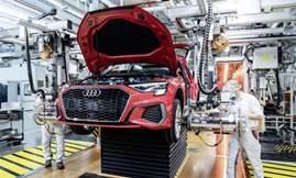 أودي ورينو أول الشركات الأوربية استئنافًا لإنتاج السيارات خلال أزمة كورونا 2