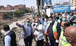 وزير النقل يتفقد أعمال تنفيذ المشروع المتكامل للتطوير والصيانة الشاملة للطريق الدائري حول القاهرة الكبرى