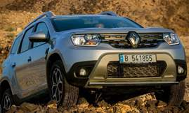 All-new Duster_Dynamic off-road ascent front 3Q right