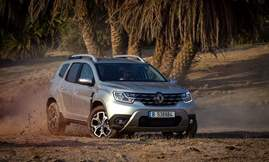 All-new Duster_Dynamic off-road front 3Q right 2