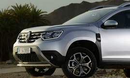 All-new Duster_Front wheel & grille