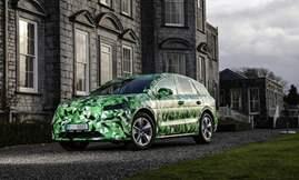 الكشف عن سكودا إنياق SUV الكهربائية الجديدة أول سبتمبر القادم  3)