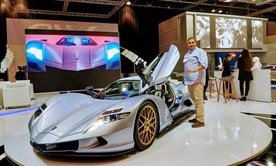 أسبارك أول أسرع سيارة إنتاجية في العالم تصل إلى دبي مع 2012 حصان