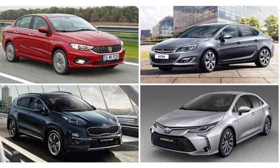 أسعار أكثر 10 سيارات مبيعا في السوق المصري