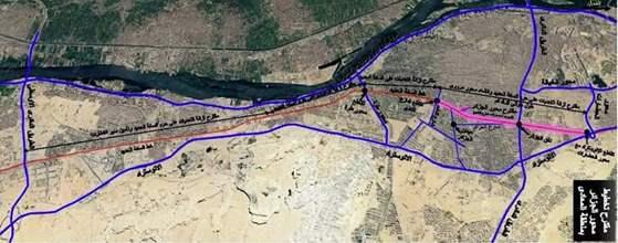 """""""لن يتم قطع أي شجرة""""..  """"النقل"""" توضح خط سير محور الجزائر  بالمعادي"""